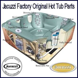 Jacuzzi Hot Tub Parts