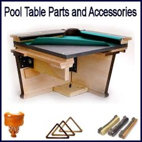 Pool Table Parts and Accessories