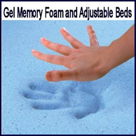 Gel Memory Foam and Latex Beds