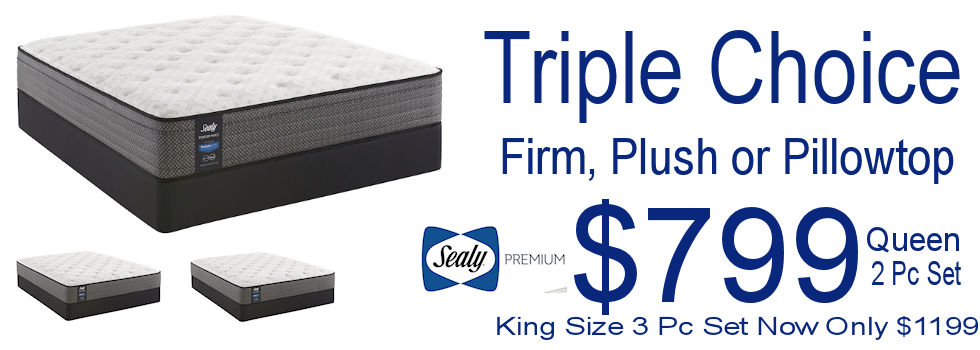 Triple Choice Sealy