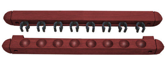 8 Cue Wall Rack