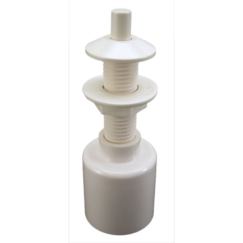 Air Button Pres Trol Long Stem High Volume White