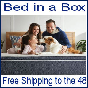 Bed in a Box Free Shipping
