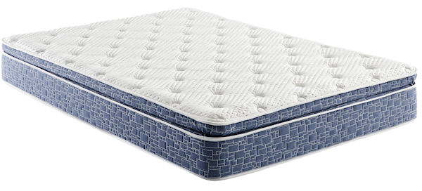 "AB 10"" Medium Pillow Top Bed in a Box Hybrid Innerspring"