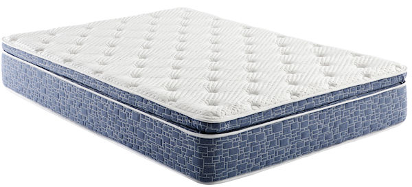 "AB 12"" Medium Pillow Top Bed in a Box Hybrid Innerspring"