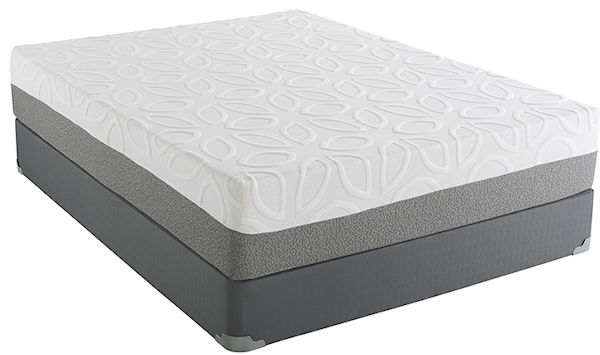 "Renue Comfort Bellgreen 12"" Gel Memory Foam"