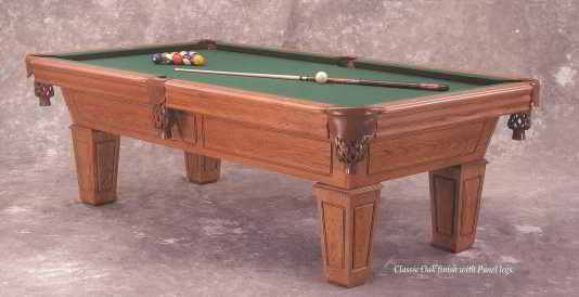 Duke Slate Pool Table by CL Bailey