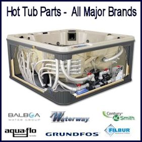 Hot Tub Parts Major Brands