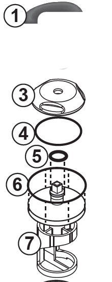 Jacuzzi J-300 Diverter Rebuild Kit - All New