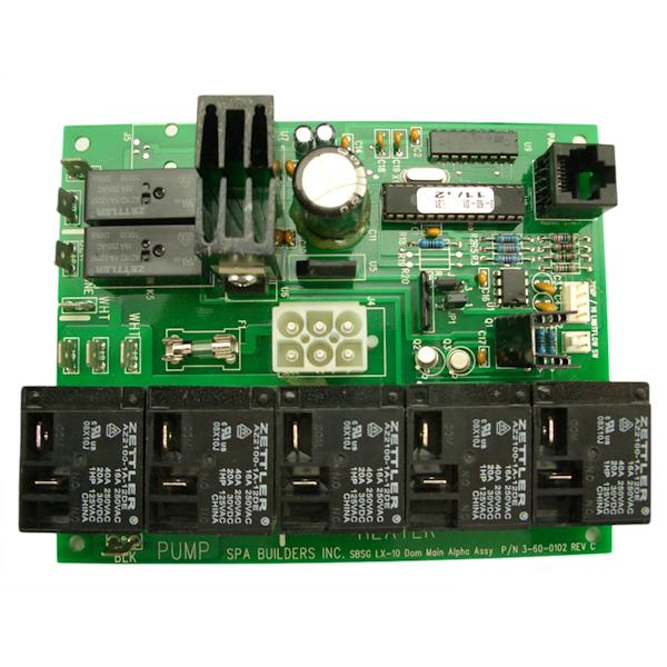 Spa Builders LX-10 Circuit Board [3-60-0120] - $369.28 : Forty Winks ...