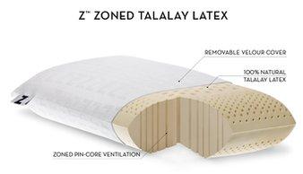 z zoned talalay latex pillow - Talalay Latex
