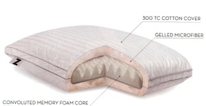Memory Foam Pillows - Z Convolution